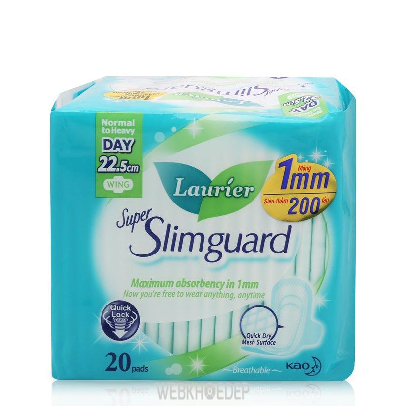 Băng vệ sinh có cánh Laurier Super Slimguard
