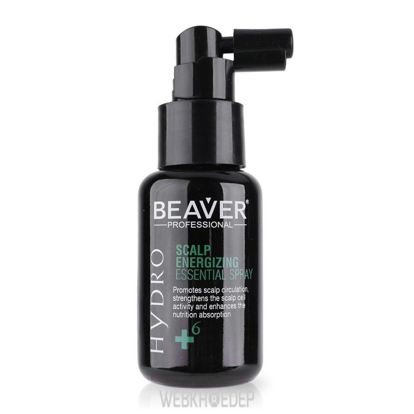 Xịt dưỡng Beaver Hydro Scalp Energizing Essense Spray +6 dung tích 50ml