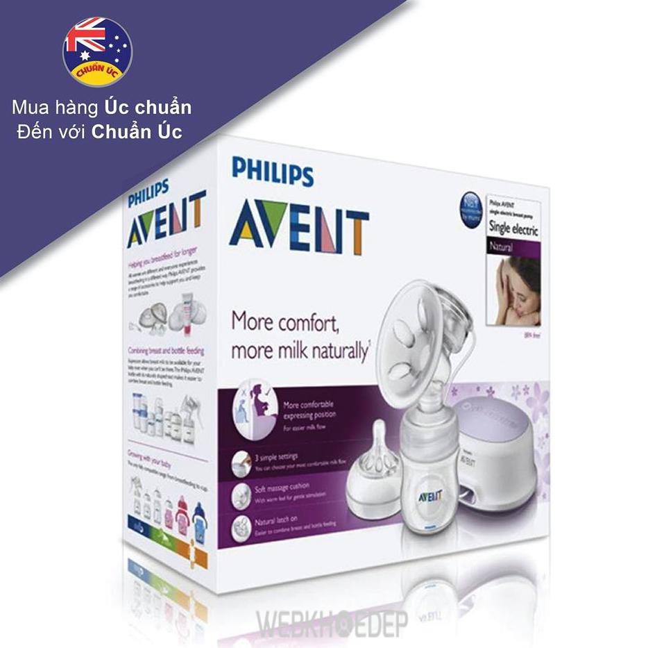 Có nên mua máy hút sữa Philips Avent?