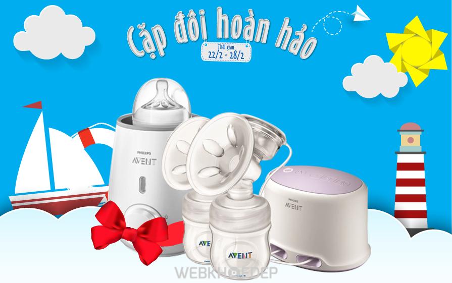 Máy hút sữa Philips Avent xuất xứ từ Anh nhập khẩu và phân phối tại Việt Nam