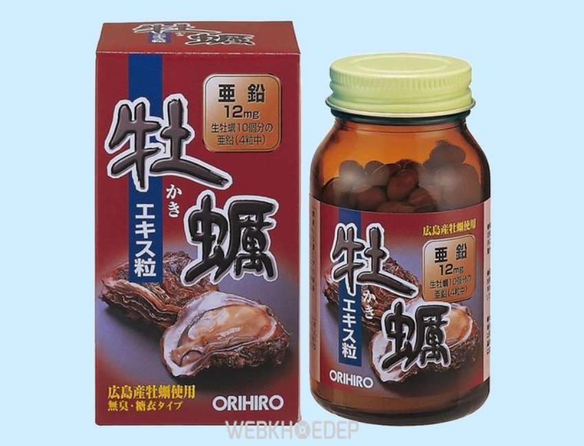 Tinh chất hàu tươi Orihiro của Nhật Bản