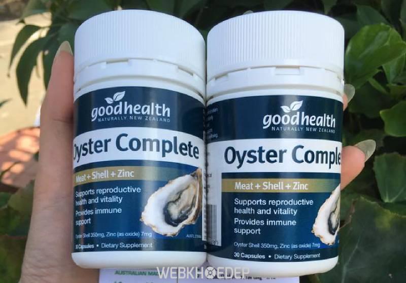 Tinh chất hàu Úc Oyster Complete giàu dinh dưỡng