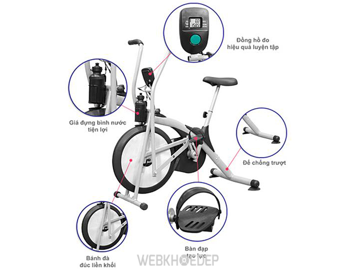 Xe đạp tập thể dục Air Bike MK98
