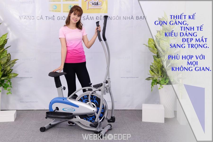 Xe đạp tập thể dục đa năng Obitrack