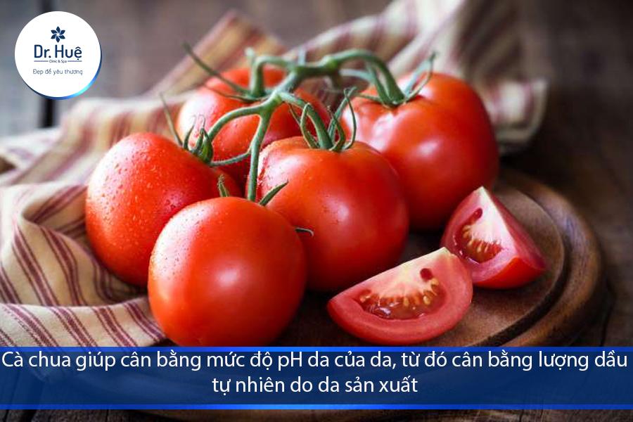 Những lợi ích tuyệt vời của mặt nạ cà chua với làn da