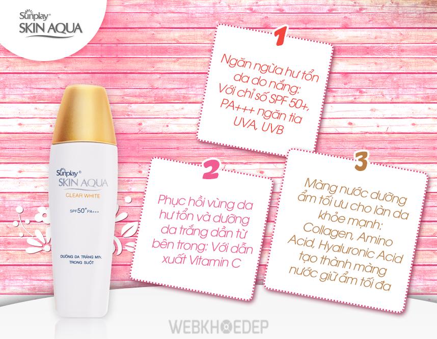 Dòng kem chống nắng dưỡng da Sunplay Skin Aqua - Cú hích lớn của hãng Rohto-Metholatum tại Việt Nam - Hình 4