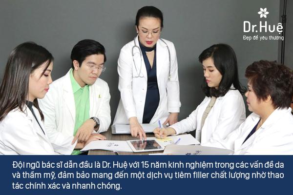 Dr. Huệ Clinic & Spa sỡ hữu đội ngũ trình độ chuyên môn cao