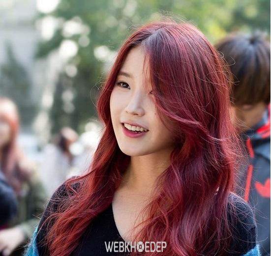 Gợi ý 5 màu tóc nhuộm đẹp cho mùa thu lãng mạn - Hình 7