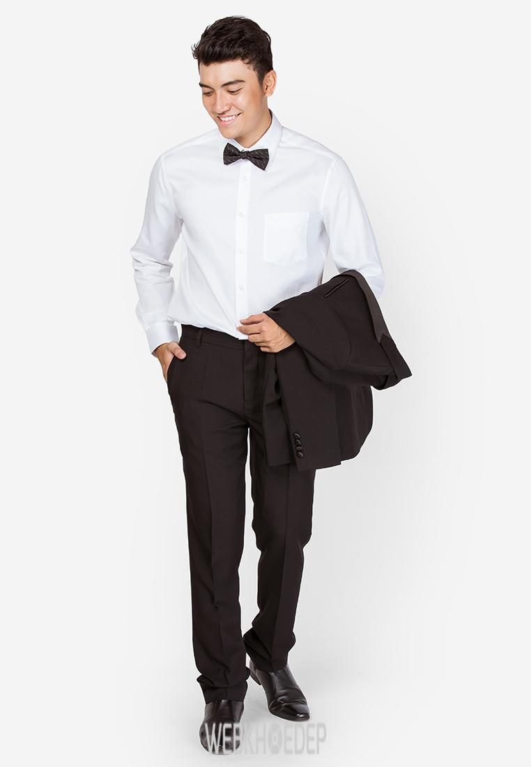 Gợi ý mặc đẹp cho chàng trai công sở với áo sơ mi - Hình 1