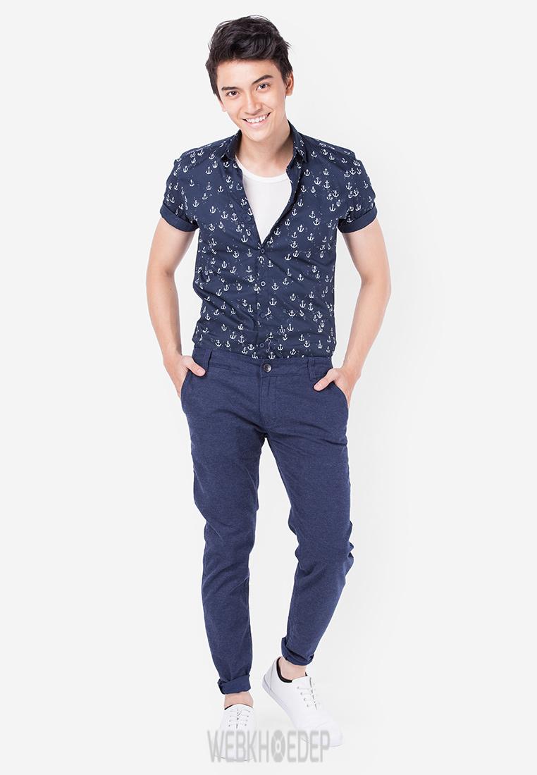 Gợi ý mặc đẹp cho chàng trai công sở với áo sơ mi - Hình 6