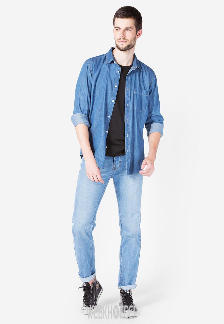 Gợi ý mặc đẹp cho chàng trai công sở với áo sơ mi - Hình 8