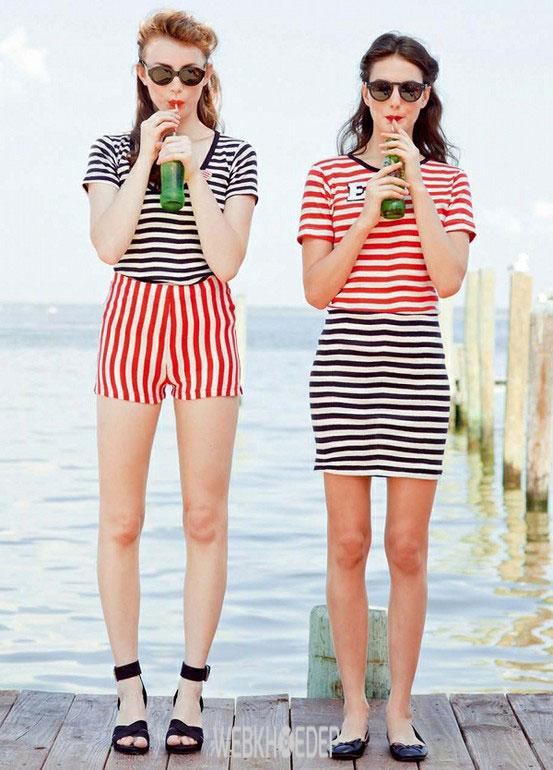 Họa tiết kẻ sọc - tuyên ngôn sắc màu cho ngày hè rực rỡ - Hình 14