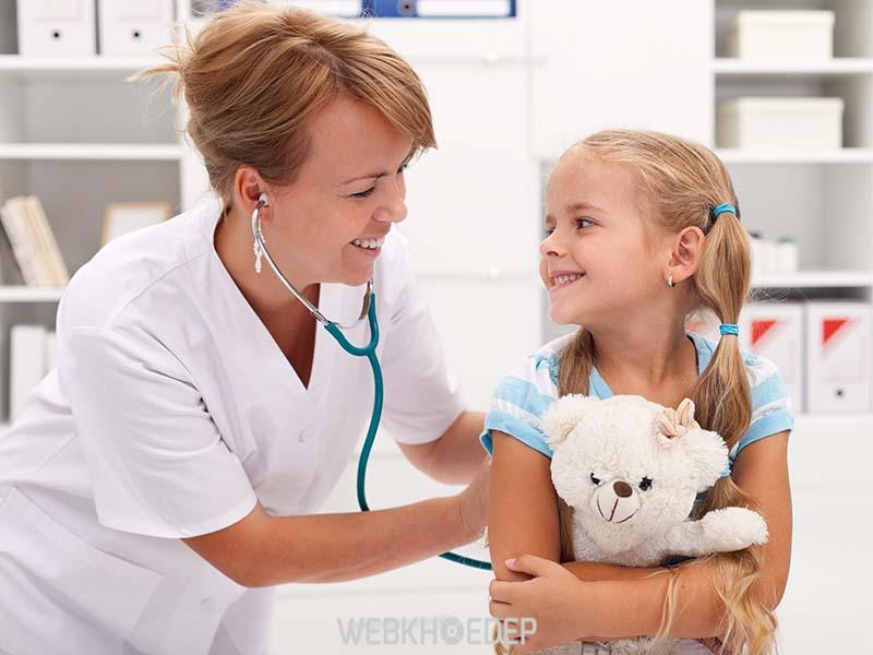 Hãy nhờ bác sĩ để giúp trẻ yên tâm và hồn nhiên hơn