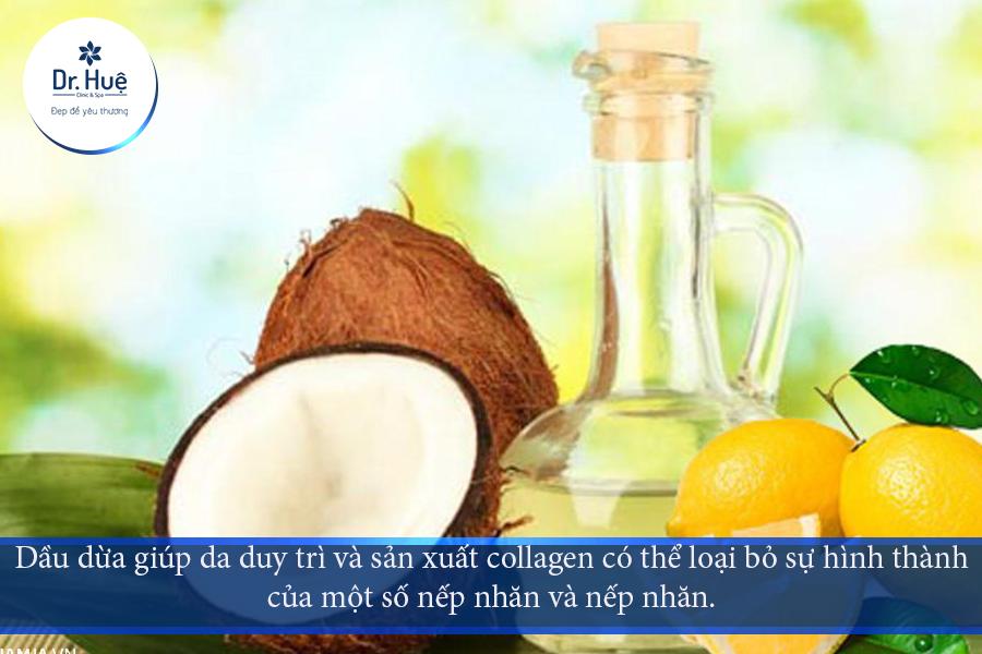 Lợi ích việc sử dụng dầuCoconut trên da của bạn