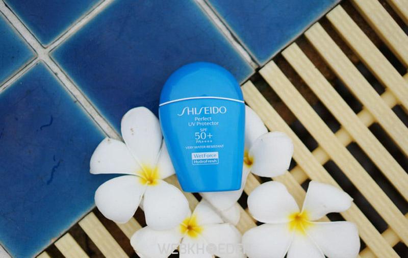 Kem chống nắng không trôi Shiseido