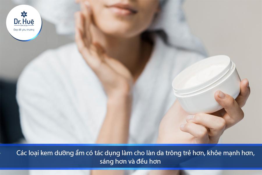 Tác dụng của kem dưỡng ẩm