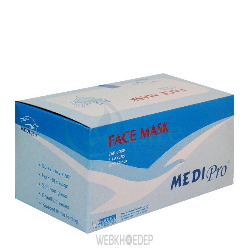 Khẩu trang y tế Medi Pro là sản phẩm cao cấp được làm từ những nguyên liệu sạch, không chứa các thành phần độc hại