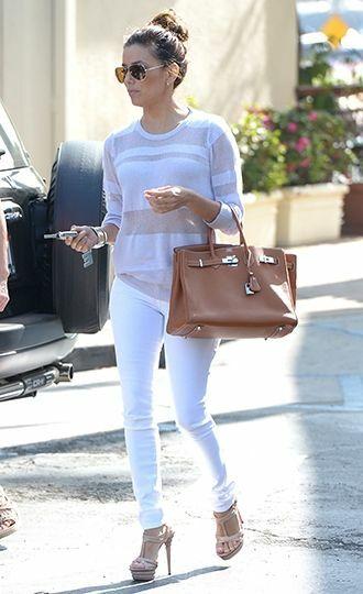 Mách nước cho bạn gái cách phối quần jeans trắng - Hình 5