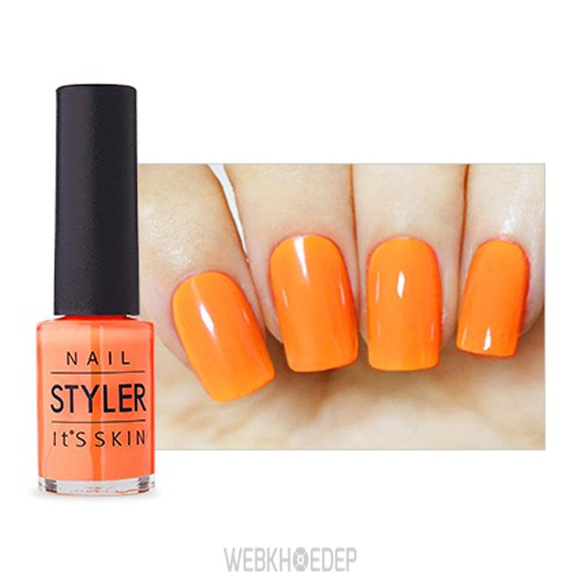 Lựa chọn màu cam bóng rất phù hợp với Sư Tử