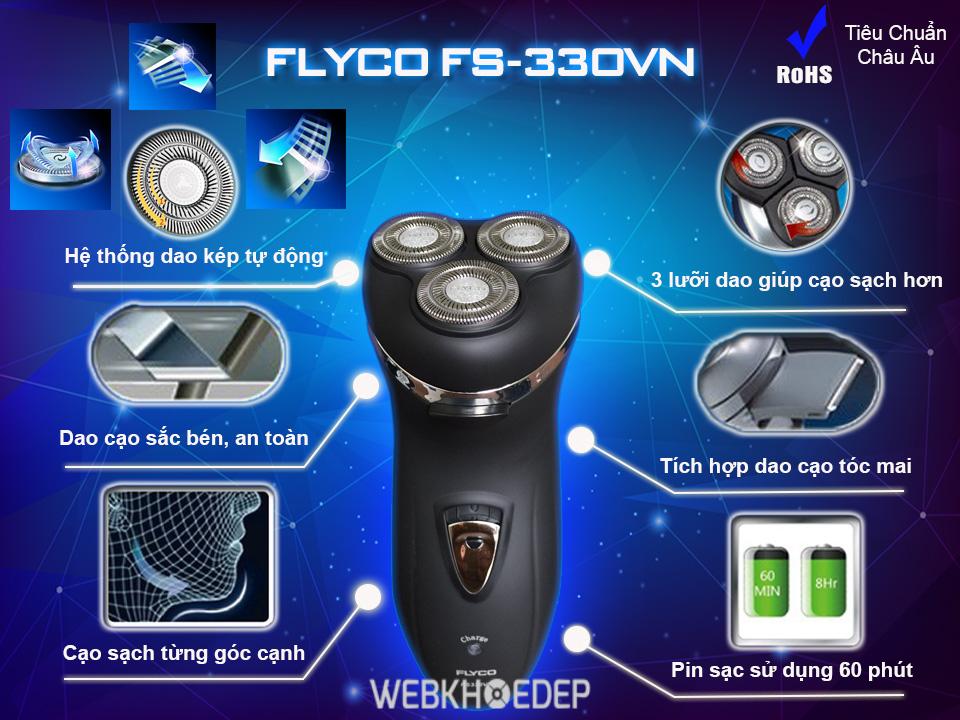 Máy cạo râu Flyco FS 330VN