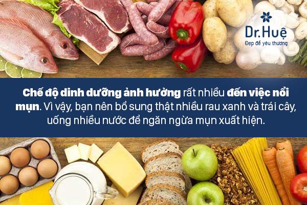 Phải có chế độ ăn uống dinh dưỡng thích hợp