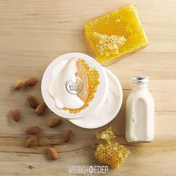 Nâng niu làn da khô và nhạy cảm với The Body Shop Almond Milk & Honey - Hình 8