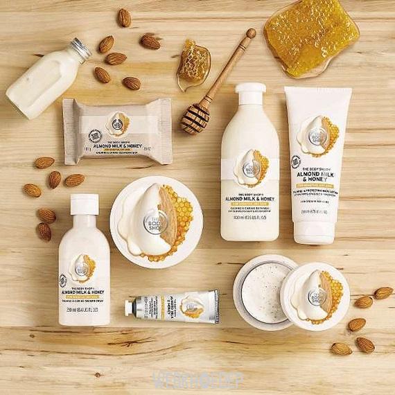 Nâng niu làn da khô và nhạy cảm với The Body Shop Almond Milk & Honey - Hình 3