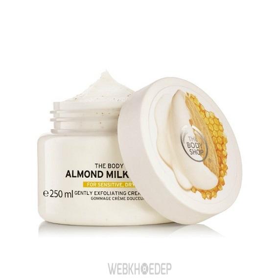 Nâng niu làn da khô và nhạy cảm với The Body Shop Almond Milk & Honey - Hình 5
