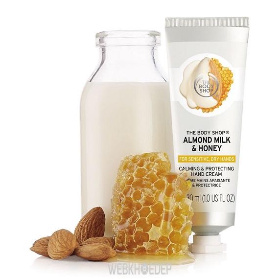 Nâng niu làn da khô và nhạy cảm với The Body Shop Almond Milk & Honey - Hình 9