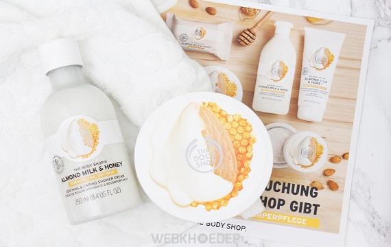 Nâng niu làn da khô và nhạy cảm với The Body Shop Almond Milk & Honey - Hình 2