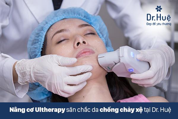 Nâng cơ mặt bằng công nghệ Utherapy giúp căng da mặt hiệu quả