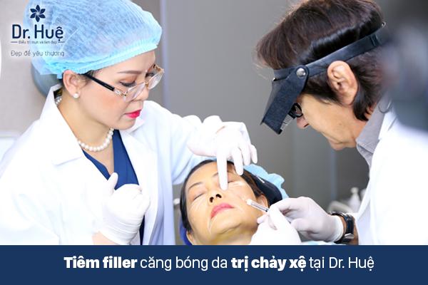 Tiêm Filler giúp da mặt săn chắt chống chảy xệ nhanh nhất và an toàn