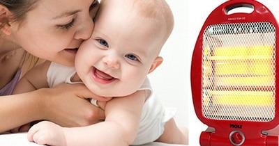 Quạt sưởi có tốt cho trẻ sơ sinh không? 7 lưu ý sống còn khi mua dùng
