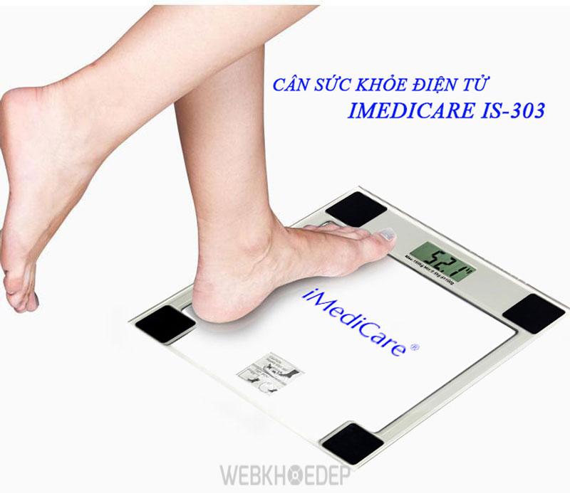 Chỉ cần đứng vững và nhẹ nhàng trên cân bạn sẽ luôn nhận được kết quả cân chính xác