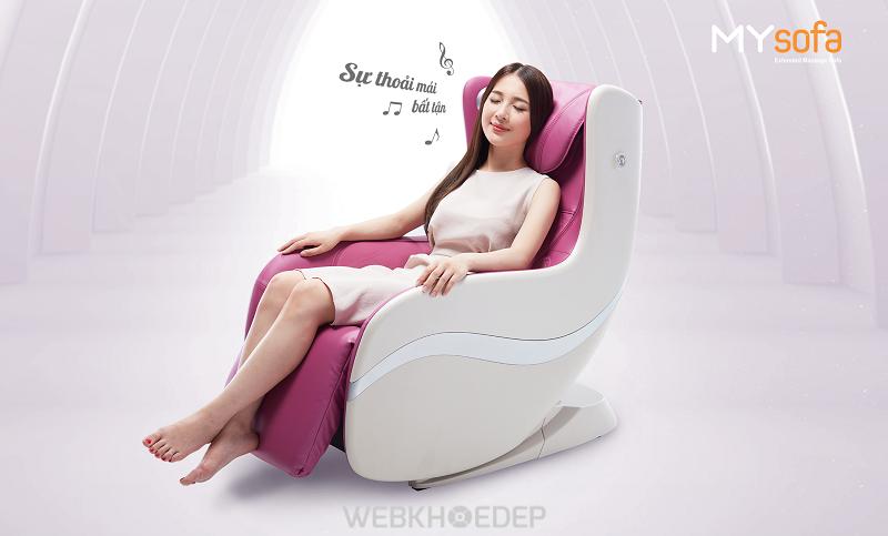 Ghế massage OGAWA MYsofa được thiết kế tinh tế