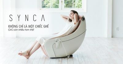 Review ghế massage toàn thân Synca CirC có tốt không, giá bao nhiêu
