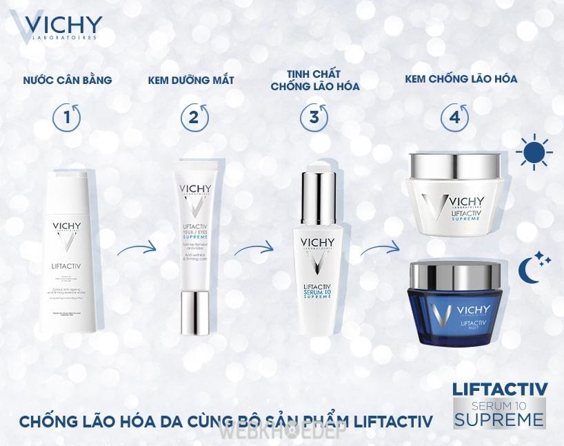 Vichy là thương hiệu dược mỹ phẩm nổi tiếng đến từ nước Pháp