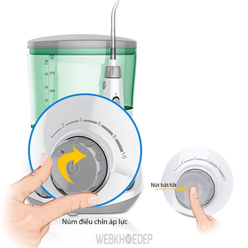 Máy tăm nước mini