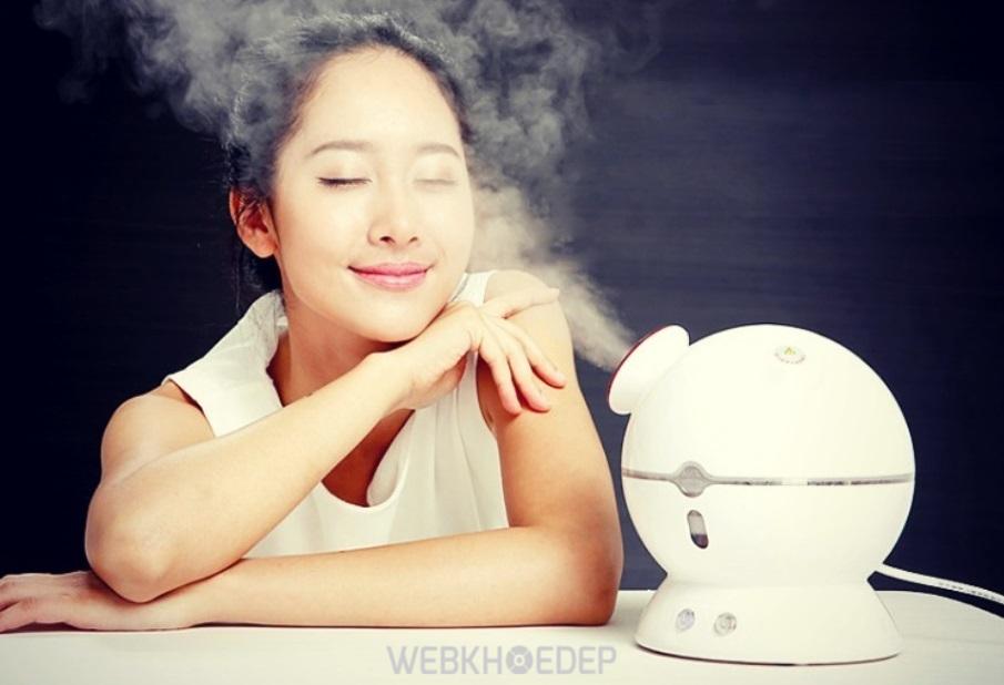 Xông hơi mặt mang lại những tác dụng tuyệt vời cho da