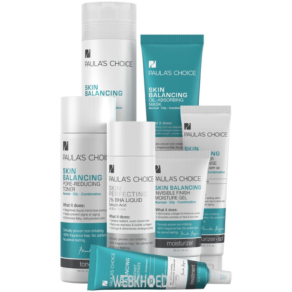 Dòng sản phẩm chăm sóc da Skin Balancing của Paula's Choice