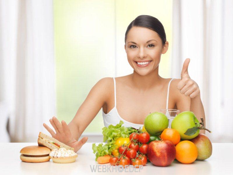 Cải thiện chế độ ăn lành mạnh