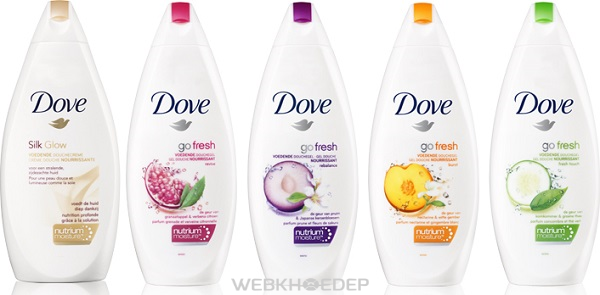 Dòng sản phẩm Dove Go Fresh