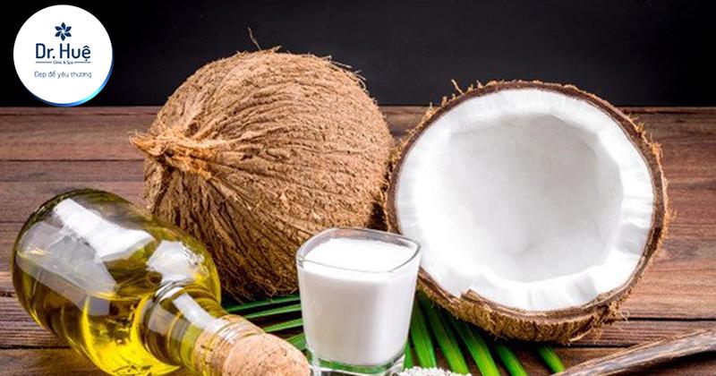 Tác dụng của dầu dừa với da mụn