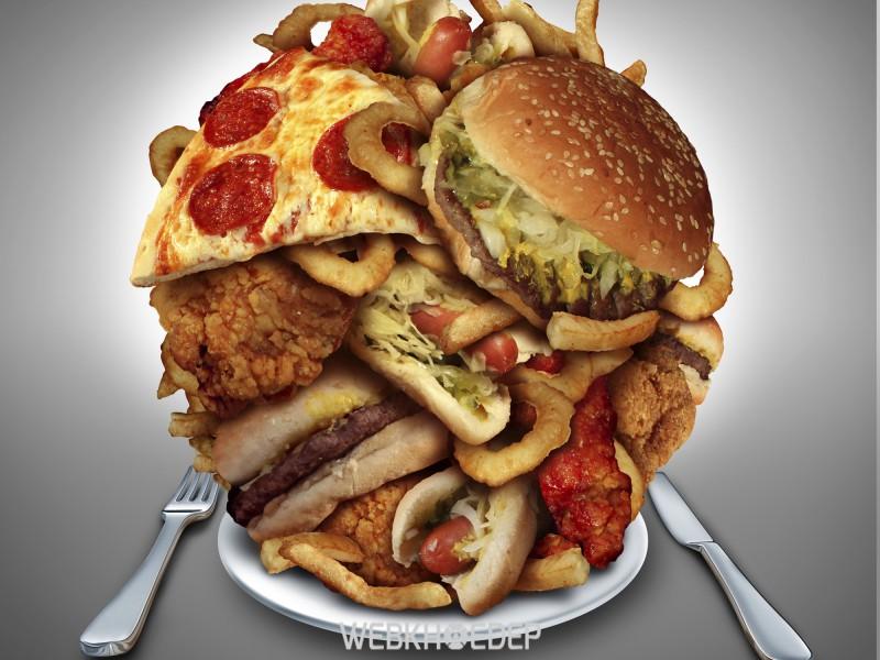 Thực phẩm không lành mạnh là nguyên nhân gây bệnh