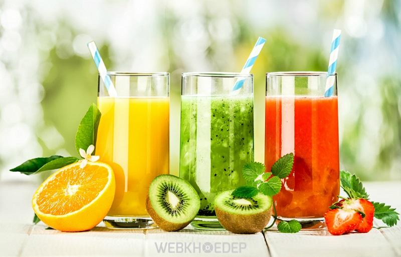 Bổ sung sinh tố hoa quả vào thực đơn ăn kiêng giảm cân cấp tốc trong 1 tuần