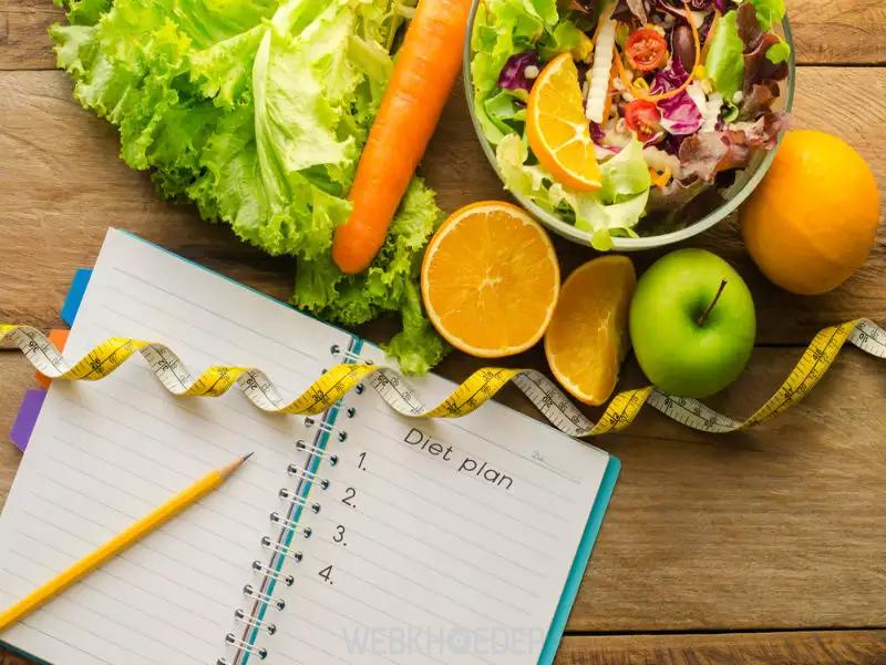 Lên kế hoạch chế độ ăn hợp lý để có vóc dáng chuẩn