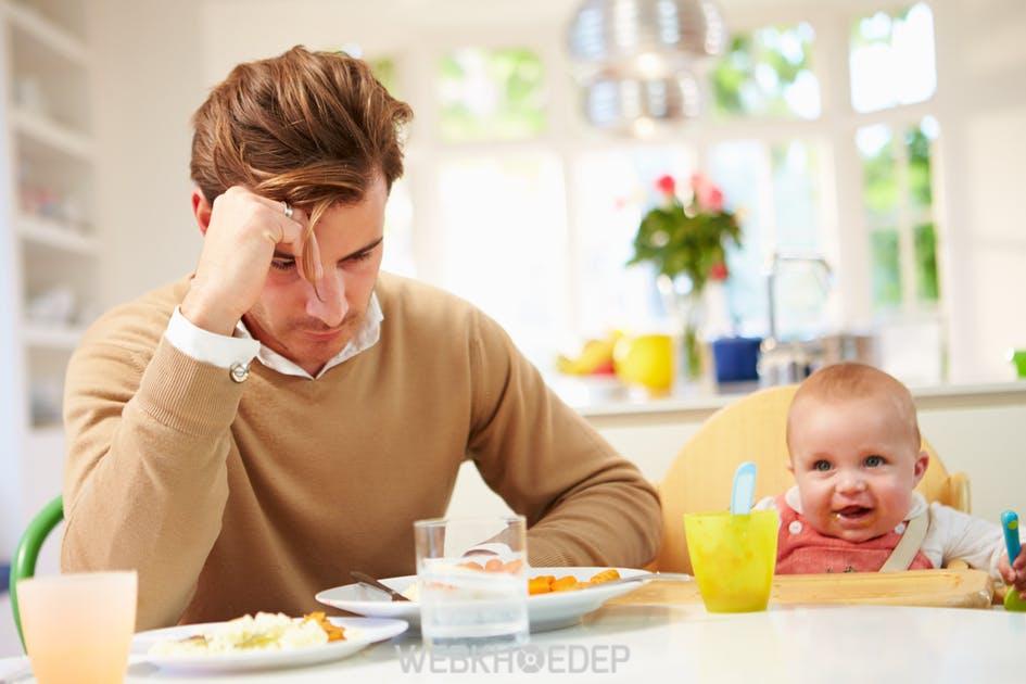 Đàn ông cũng mắc hội chứng trầm cảm sau sinh