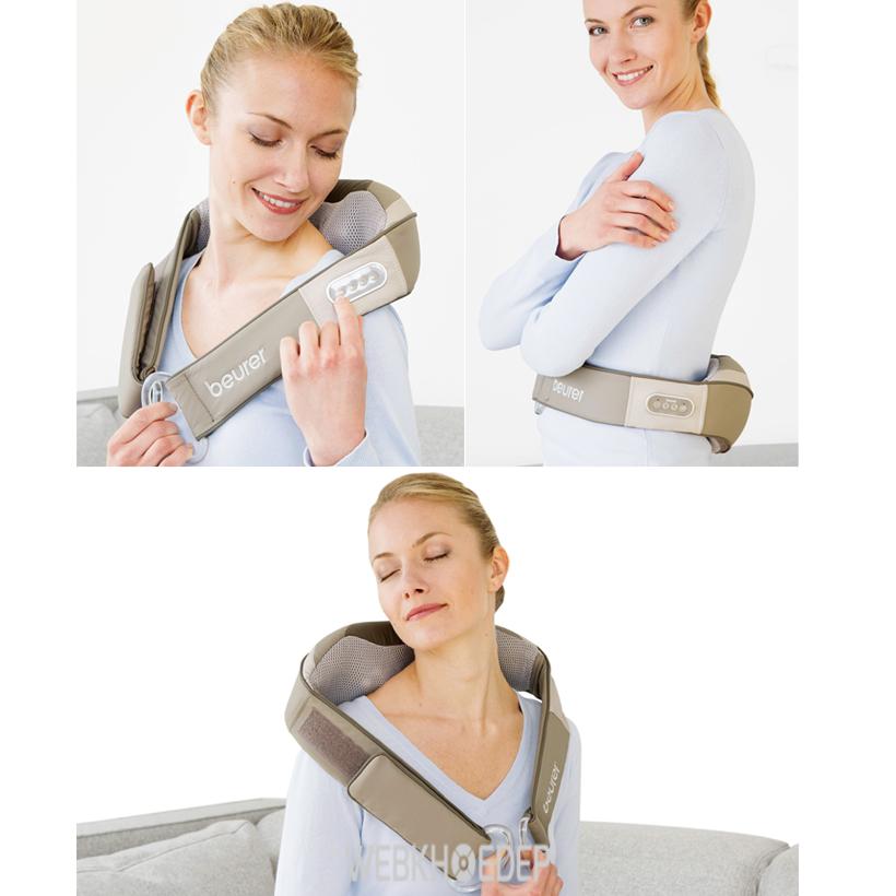 Đai massage lưng, vai, cổ Beurer MG148
