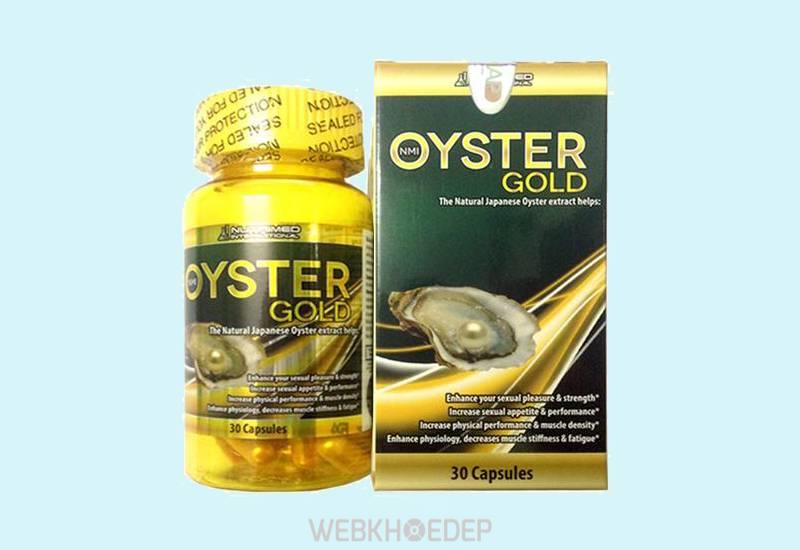 Tinh chất hàu tươi Oyster Gold Mỹ