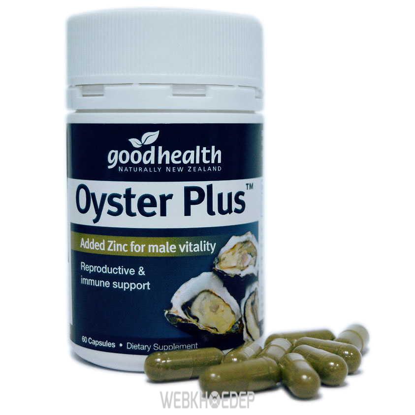Tinh chất từ hàu của hãng Goodhealth Úc được đánh giá cao cho sức khỏe sinh lý của quý ông